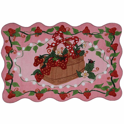 Strawberry Patch Rectangular Rugs