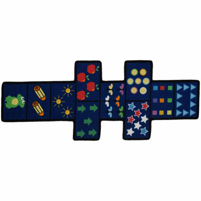 Hopscotch With Counters Rectangular Rugs