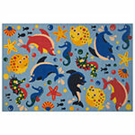 Aquarium Rectangular Indoor Rugs