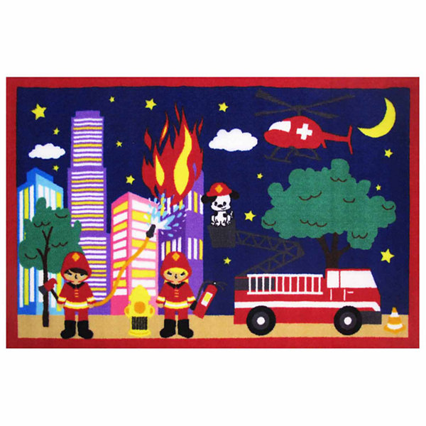 Fire! Fire! Rectangular Rugs