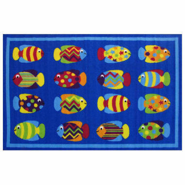 Fish Tank Rectangular Rugs