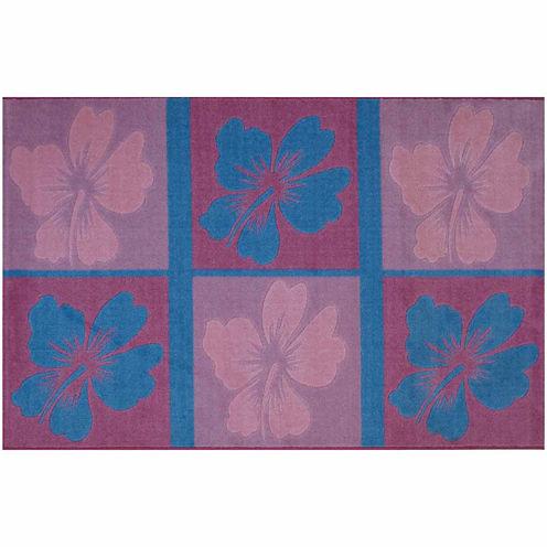 Hula Dream Rectangular Rugs