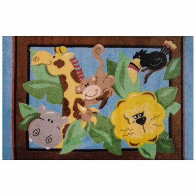 In The Jungle Rectangular Rugs