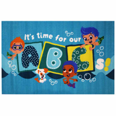 It'S Time For Our Abc'S Rectangular Rugs