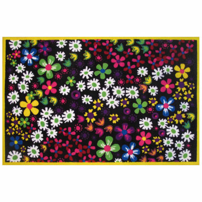 Floral Rectangular Rugs