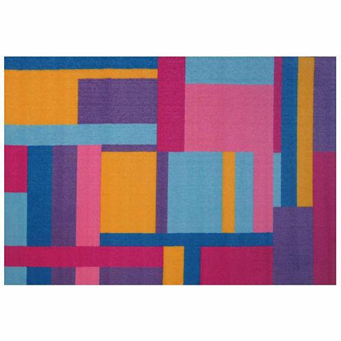 Tetris Rectangular Rugs