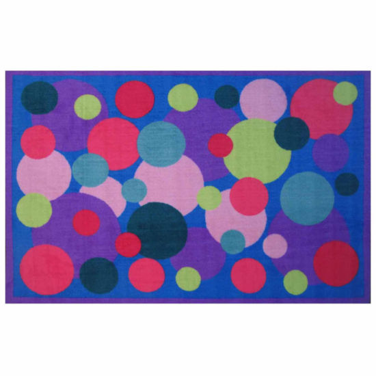 Poppin' Bubbles Rectangular Rugs