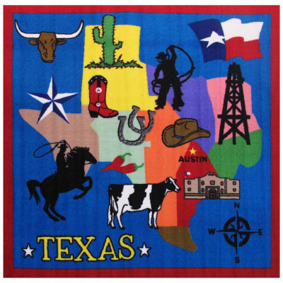 Texas Round Rugs