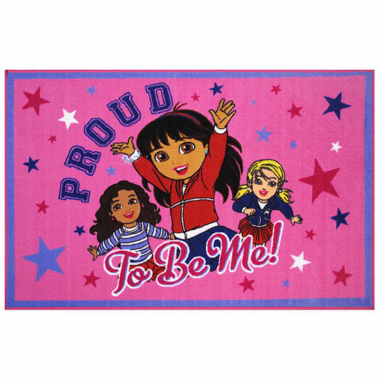 Proud To Be Me Rectangular Indoor Rugs