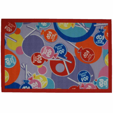 Tootsie Roll Pop Rectangular Rugs