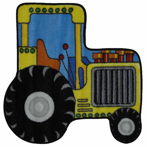 Tractor Round Rugs