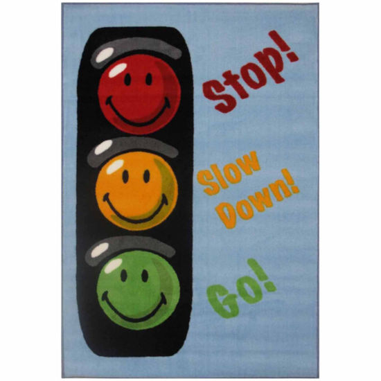 Traffic Signal Rectangular Rugs