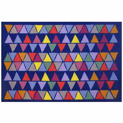 Pyramid Party Rectangular Rugs