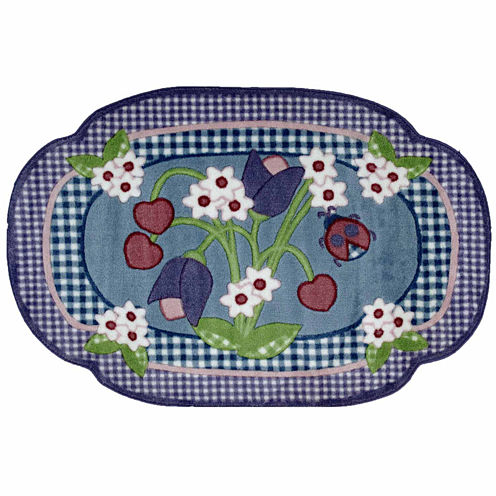 Tulip Time Rectangular Rugs