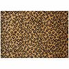 Leopard Skin Rectangular Indoor Rugs