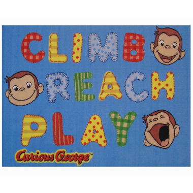 George Climb; Reach;Play Rectangular Rugs