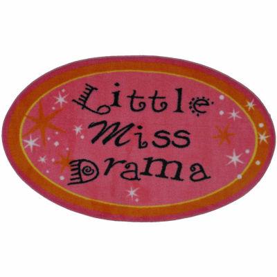 Little Miss Drama Rectangular Rugs