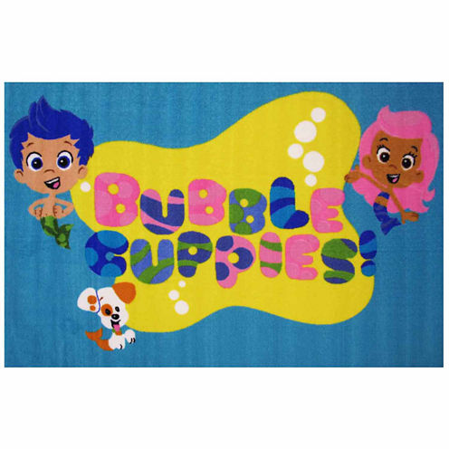 Bubble Guppies Rectangular Rugs