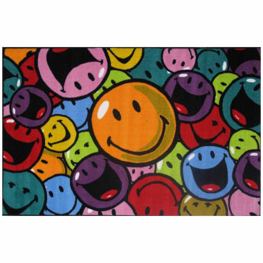 Smiles And Laughs Rectangular Rugs