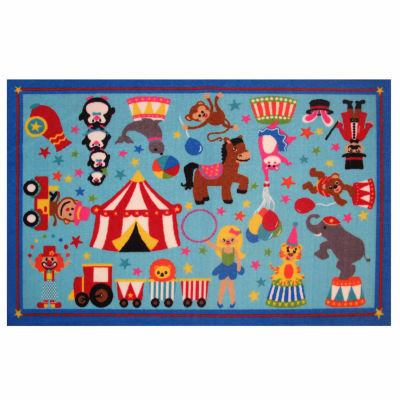 Circus Life! Rectangular Rugs