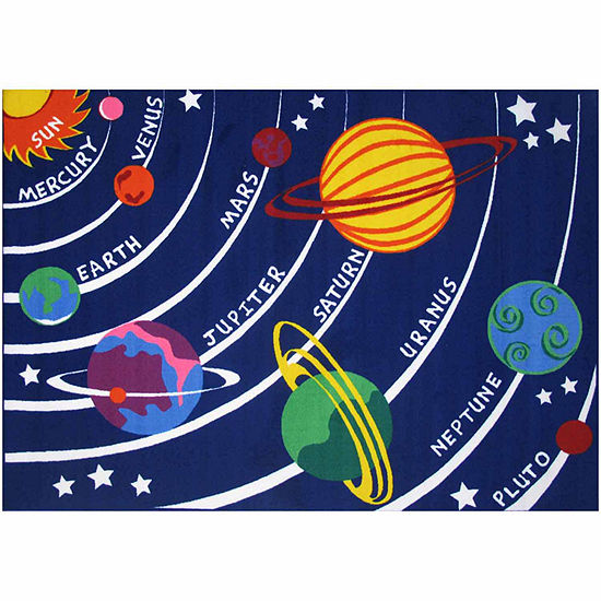 Solar System Rectangular Indoor Rugs