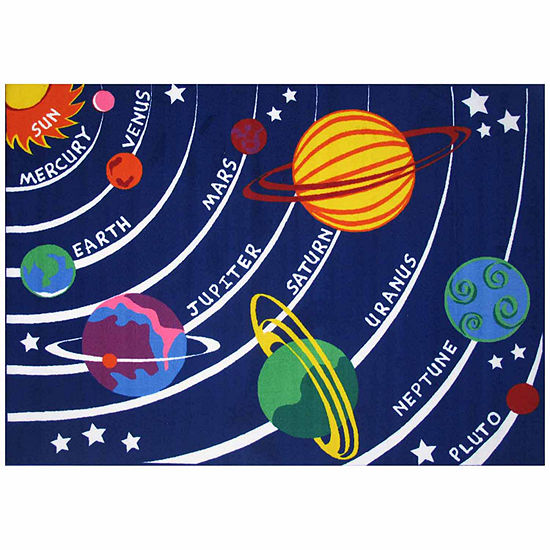 Solar System Rectangular Indoor Rugs