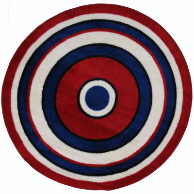 Concentric 2 Round Rugs