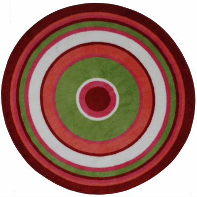 Concentric 3 Round Rugs
