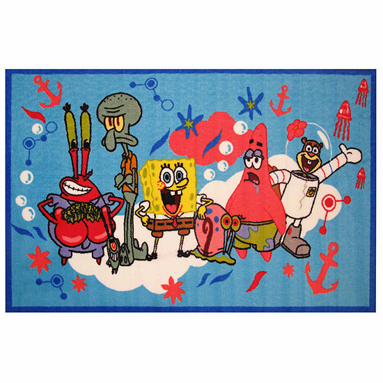 Spongebob & Friends Rectangular Indoor Rugs