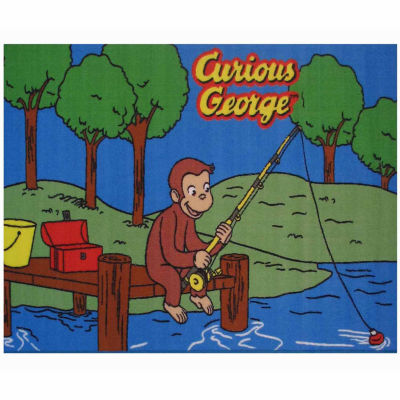 George Fishing Rectangular Rugs