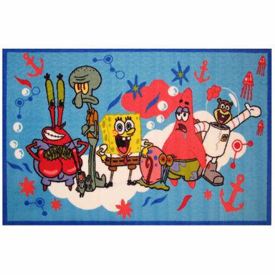 Spongebob & Friends Rectangular Rugs