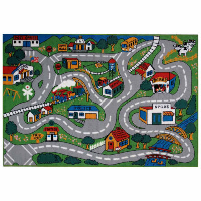 Country Fun Rectangular Rugs