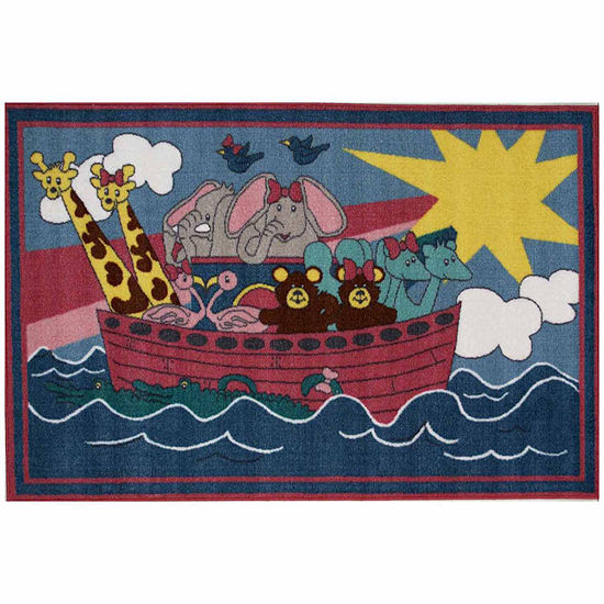 Noah'S Ark Rectangular Indoor Rugs