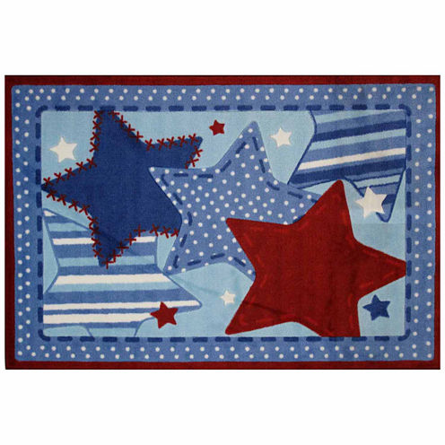 Denim Dreams Rectangular Rugs