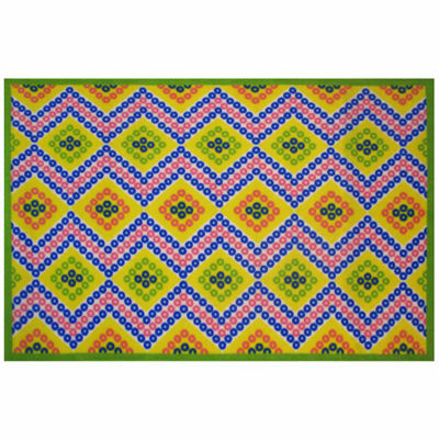 Diamonds Rectangular Rugs