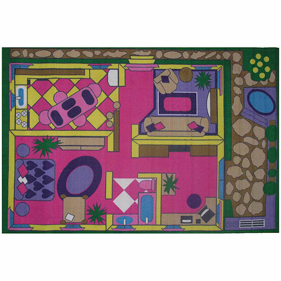 Dollhouse Rectangular Indoor Rugs