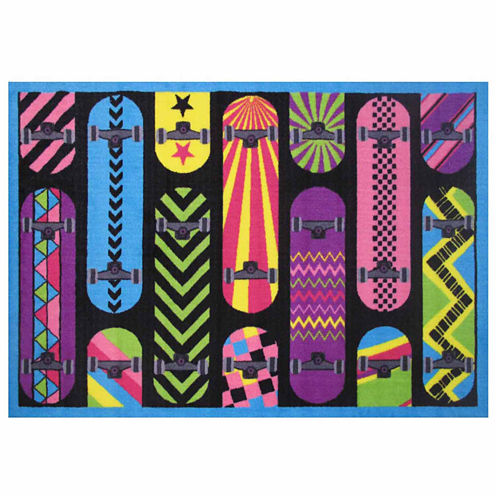Gnarly Boards Rectangular Rugs