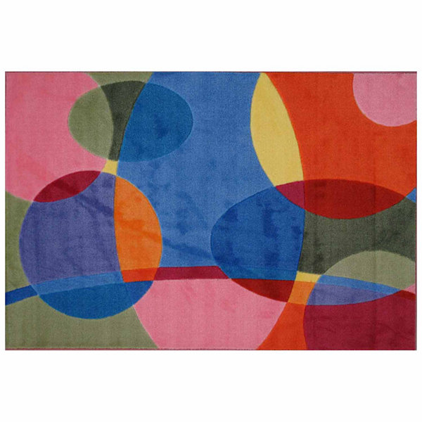 Groovy Dots Rectangular Rugs
