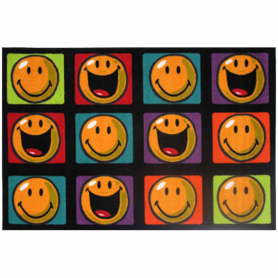 Happy And Smiling Rectangular Rugs