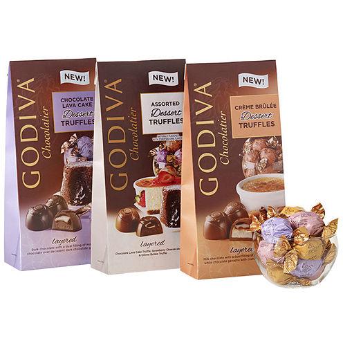 Godiva Assorted Dessert Truffles Gift Set