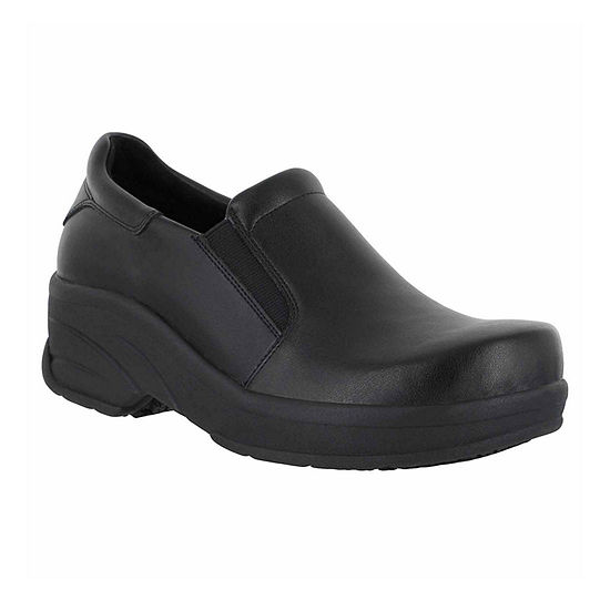 Easy Works By Easy Street Womens Appreciate Clogs Round Toe