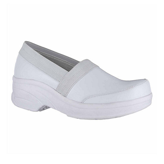 Easy Works By Easy Street Womens Attend Clogs Round Toe
