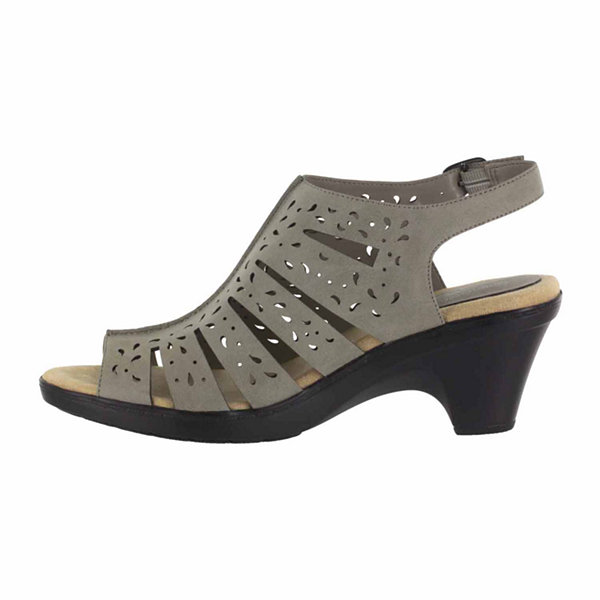 Easy Street Kamber Womens Heeled Sandals Extra Wide