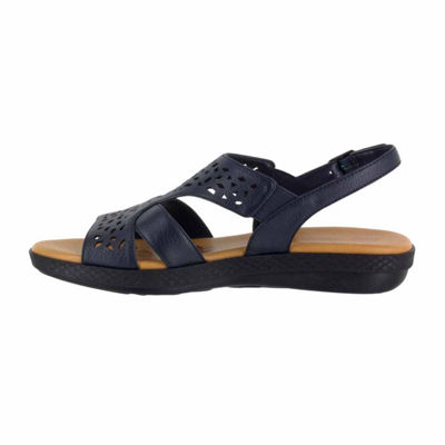 Easy Street Womens Bolt Strap Sandals