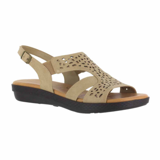 Easy Street Bolt Womens Strap Sandals