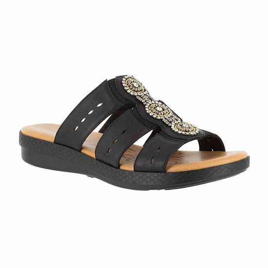 Easy Street Womens Nori Slide Sandals