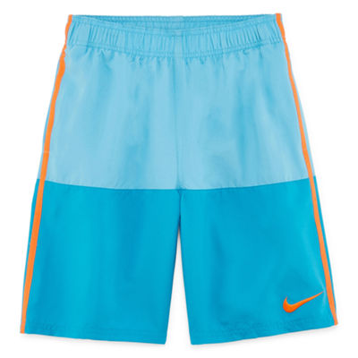 "Nike 8"" Color Block Swim Trunk - Boys 8-20"