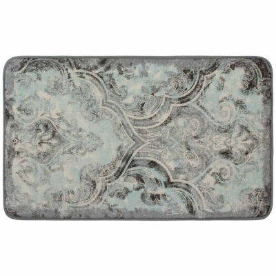 Laura Ashley Daventry High Definition Memory Foam Rectangular Accent Rug