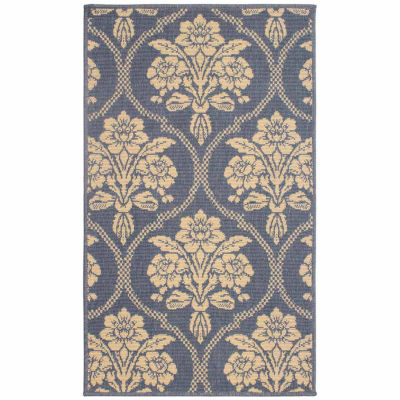 Laura Ashley Tatton in Chain Indoor/Outdoor Rectangular Accent Rug