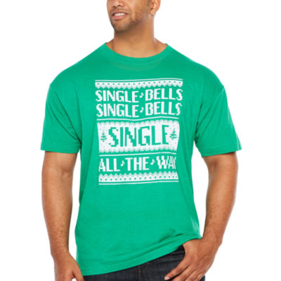 Single Bells Short Sleeve Graphic T-Shirt-Big and Tall